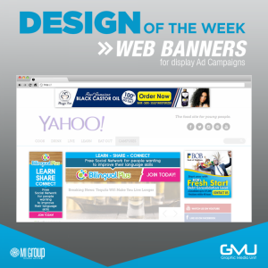 Web Banners - Graphic Media Unit - My Deals Today