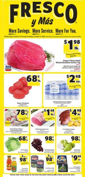 Weekly Specials Fresco y Más Supermarket South Florida