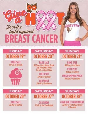 Join The Fight Against Breast Cancer- Hooters - My Deals Today