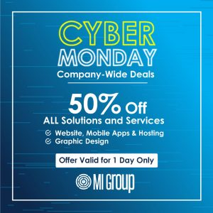 Cyber Monday Deals - MI Group - My Deals Today
