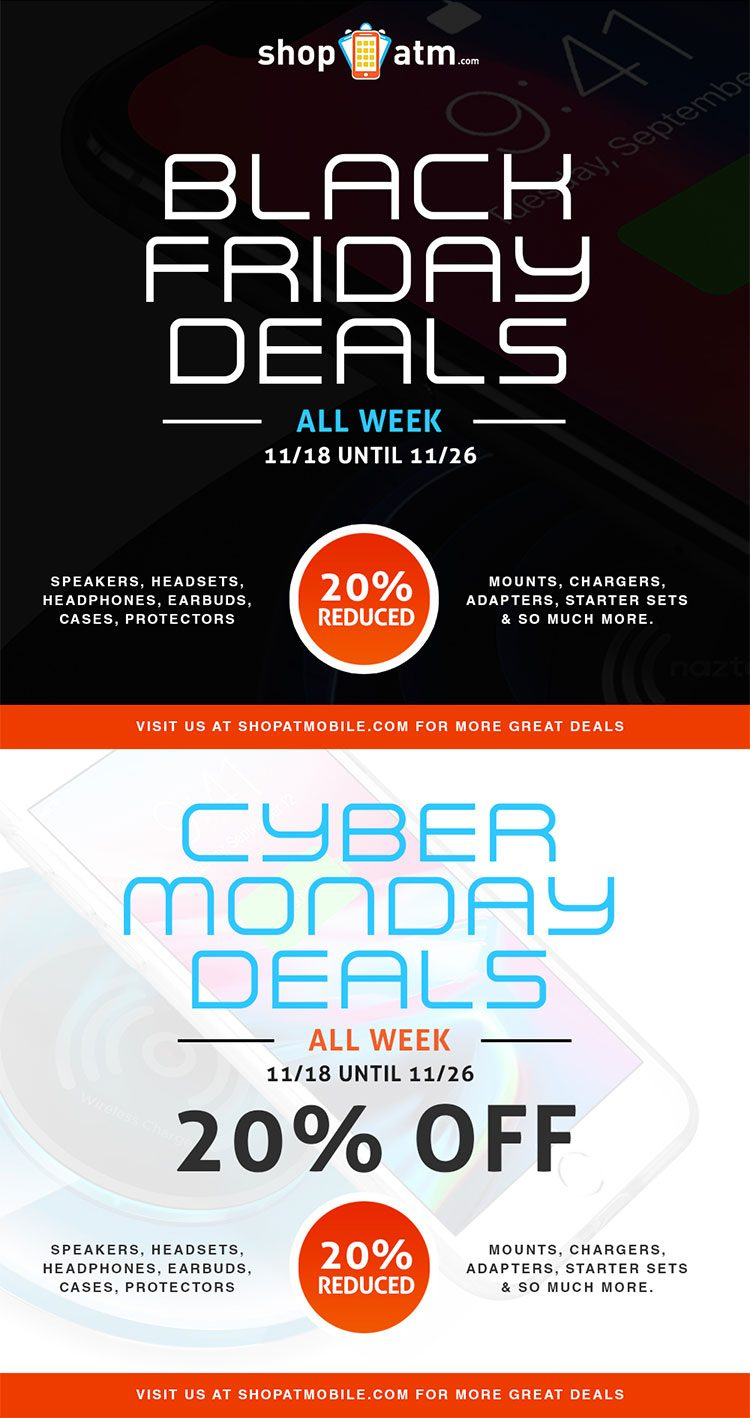Black Friday and Cyber Monday Deals are Here Now! My Deals Today